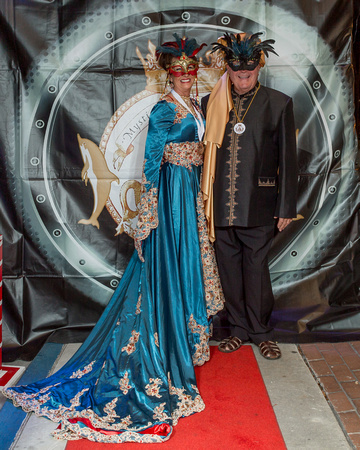 Mystick Krewe of Key West Bal Masque Red Carpet 2017 NWM-1261