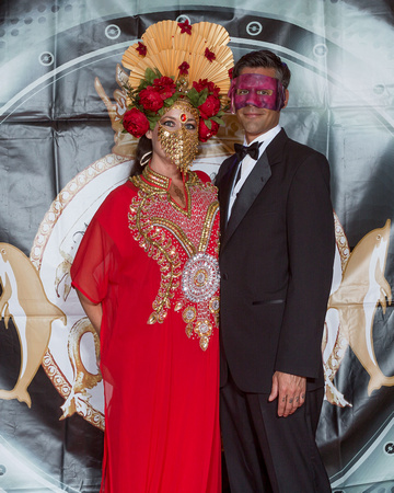 Mystick Krewe of Key West Bal Masque Red Carpet 2017 NWM-0945
